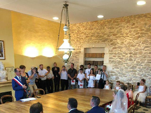 Le mariage de Romain et Elodie à Codognan, Gard 9