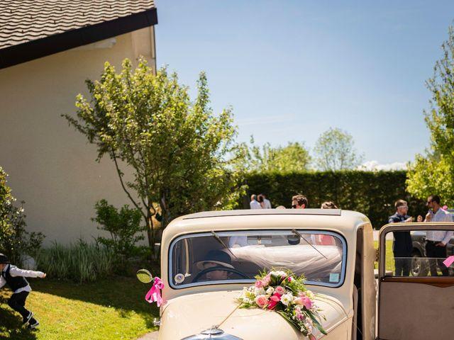 Le mariage de Johan et Laurie à Cruseilles, Haute-Savoie 9