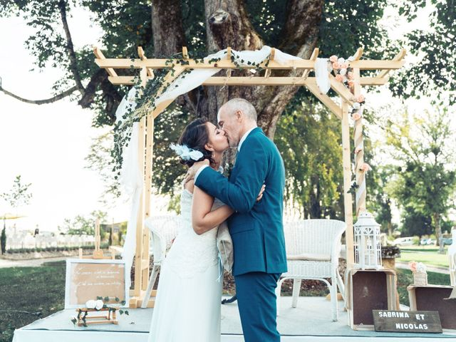 Le mariage de Nicolas et Sabrina à Amondans, Doubs 25