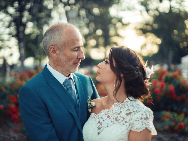 Le mariage de Nicolas et Sabrina à Amondans, Doubs 33