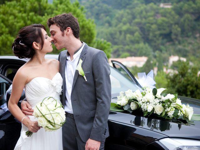 Le mariage de Vincent et Camélia à Éze, Alpes-Maritimes 33