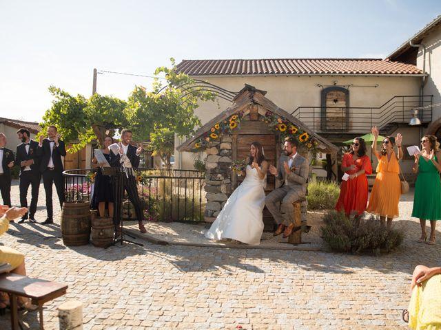 Le mariage de Guillaume et Lenaïc à Mornand-en-Forez, Loire 25