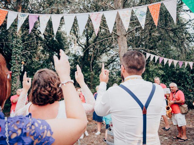 Le mariage de Matthieu et Charline à Pieusse, Aude 84