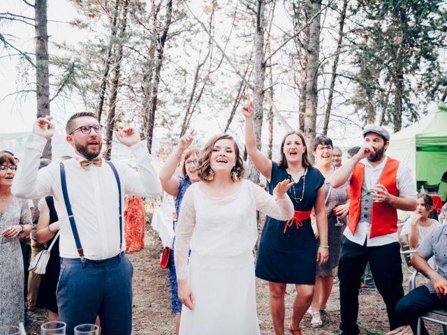 Le mariage de Matthieu et Charline à Pieusse, Aude 85