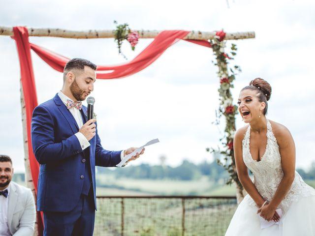 Le mariage de Mickaël et Laetitia à Caussens, Gers 43