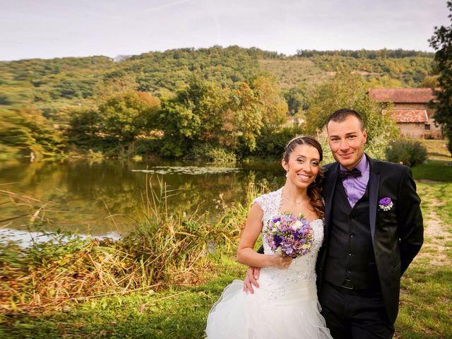 Le mariage de Anthony et Audrey à Panossas, Isère 7