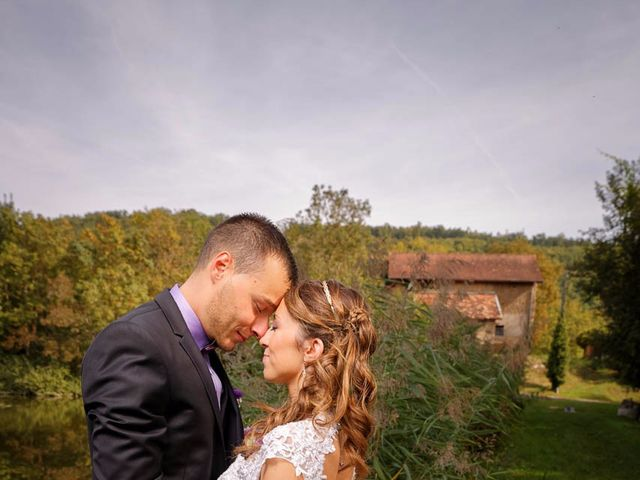 Le mariage de Anthony et Audrey à Panossas, Isère 9