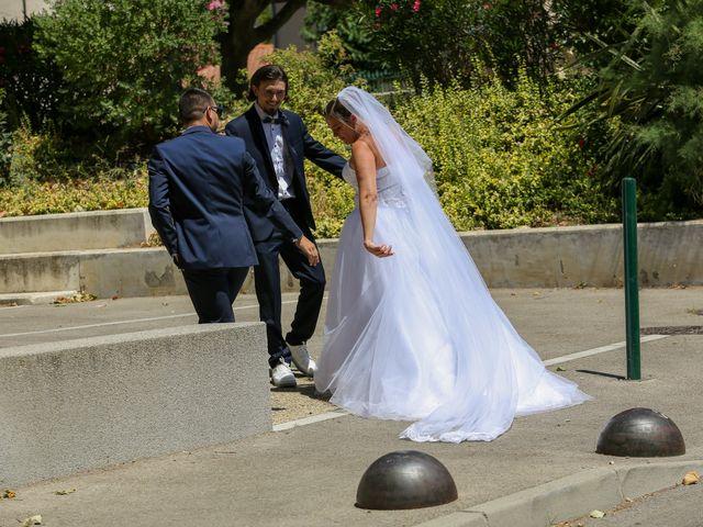 Le mariage de Benjamin et Jennifer à Gallargues le Montueux, Gard 39