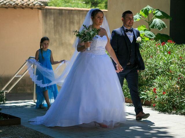 Le mariage de Benjamin et Jennifer à Gallargues le Montueux, Gard 40