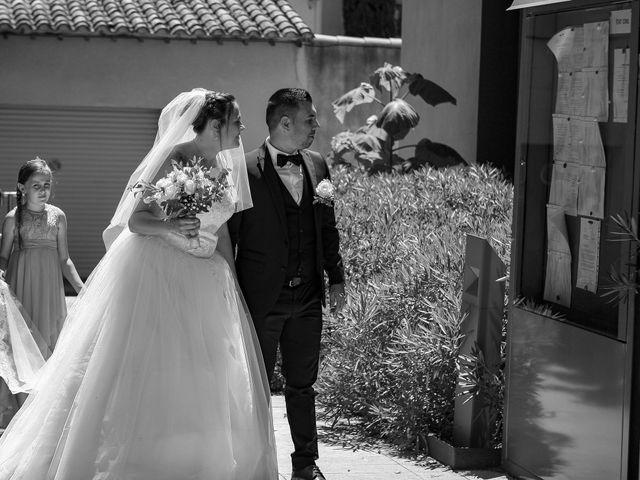 Le mariage de Benjamin et Jennifer à Gallargues le Montueux, Gard 43