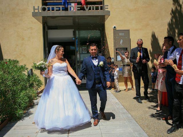 Le mariage de Benjamin et Jennifer à Gallargues le Montueux, Gard 61