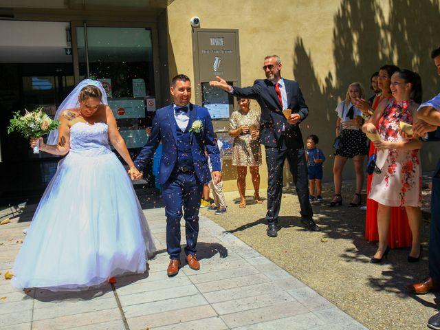 Le mariage de Benjamin et Jennifer à Gallargues le Montueux, Gard 62