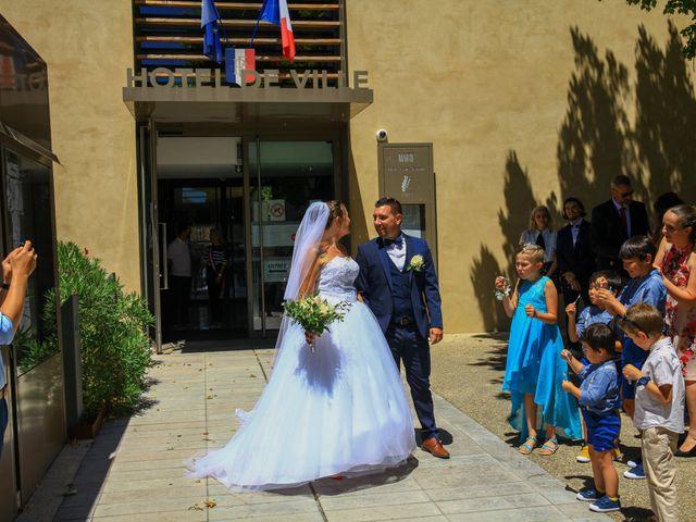 Le mariage de Benjamin et Jennifer à Gallargues le Montueux, Gard 63