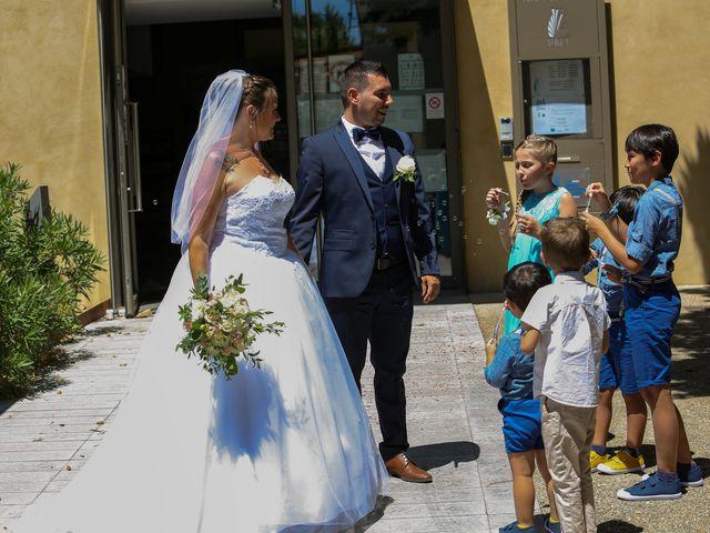 Le mariage de Benjamin et Jennifer à Gallargues le Montueux, Gard 65