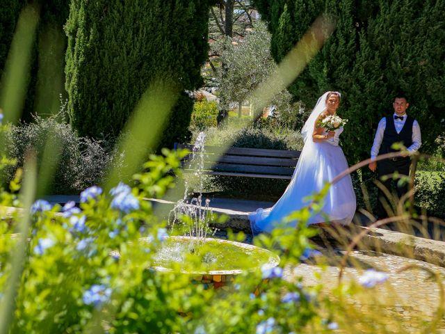 Le mariage de Benjamin et Jennifer à Gallargues le Montueux, Gard 73