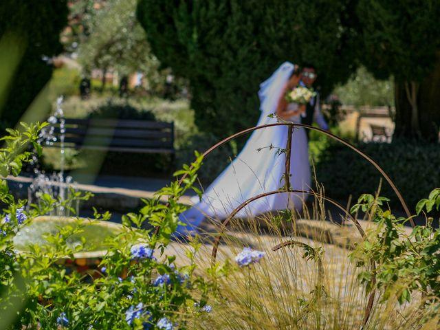 Le mariage de Benjamin et Jennifer à Gallargues le Montueux, Gard 74