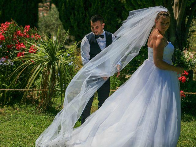 Le mariage de Benjamin et Jennifer à Gallargues le Montueux, Gard 79