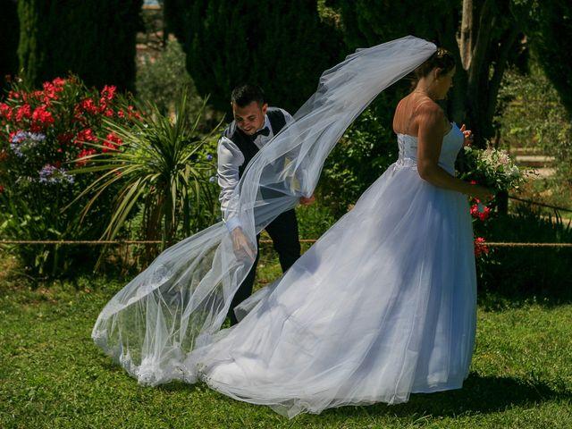 Le mariage de Benjamin et Jennifer à Gallargues le Montueux, Gard 80