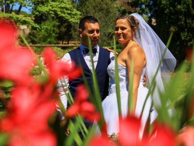 Le mariage de Benjamin et Jennifer à Gallargues le Montueux, Gard 84