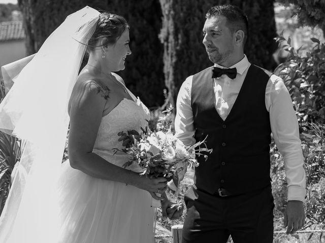 Le mariage de Benjamin et Jennifer à Gallargues le Montueux, Gard 85