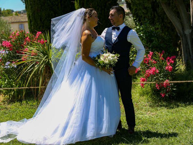 Le mariage de Benjamin et Jennifer à Gallargues le Montueux, Gard 86