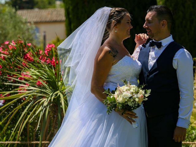 Le mariage de Benjamin et Jennifer à Gallargues le Montueux, Gard 87