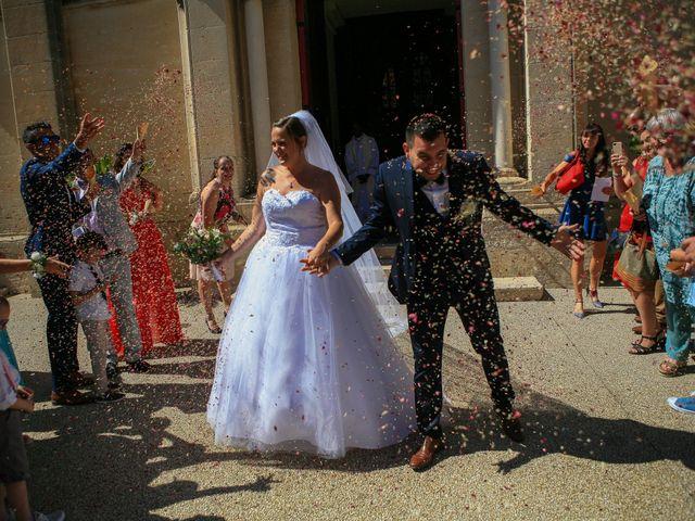Le mariage de Benjamin et Jennifer à Gallargues le Montueux, Gard 110
