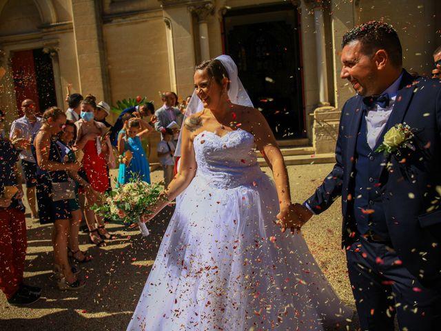 Le mariage de Benjamin et Jennifer à Gallargues le Montueux, Gard 114