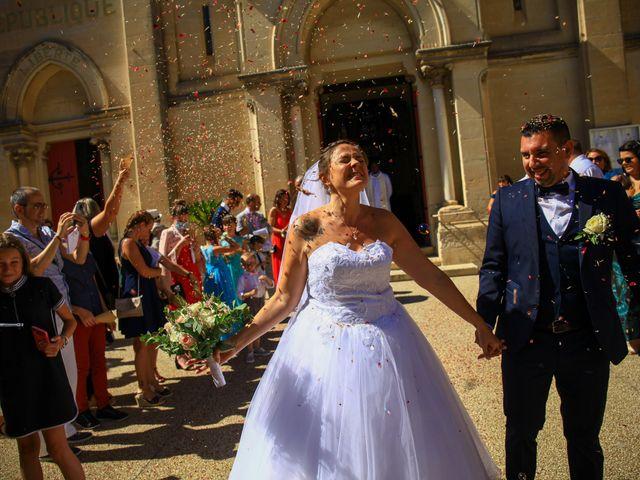 Le mariage de Benjamin et Jennifer à Gallargues le Montueux, Gard 116