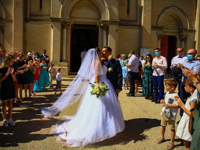 Le mariage de Benjamin et Jennifer à Gallargues le Montueux, Gard 119