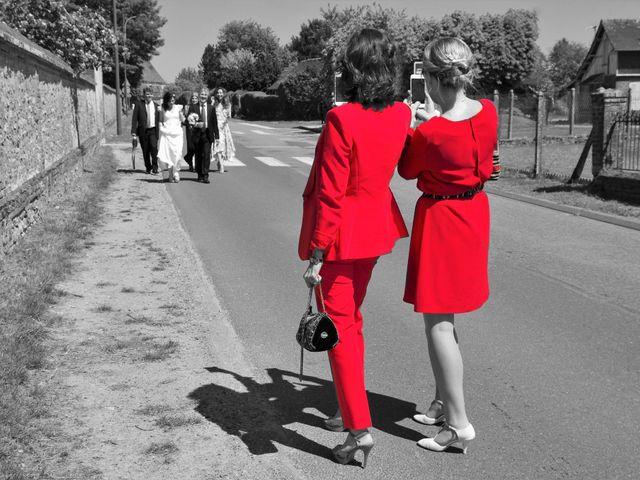Le mariage de Ivan et Orianne à Saint-Éloi-de-Fourques, Eure 9