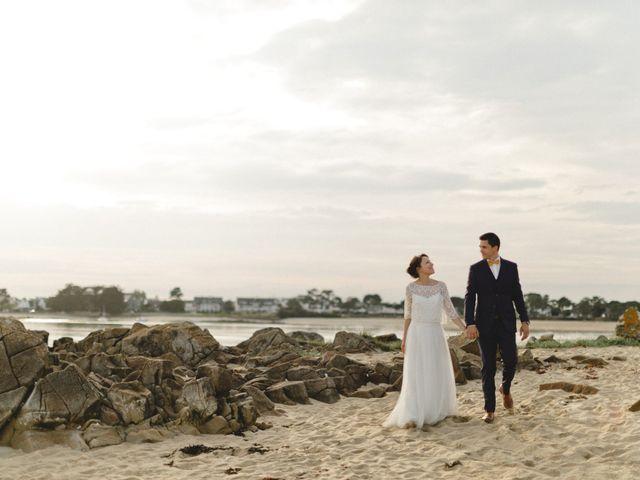 Le mariage de Miguel et Audrey à Pluneret, Morbihan 65