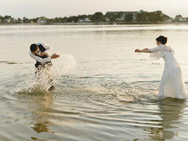 Le mariage de Miguel et Audrey à Pluneret, Morbihan 102