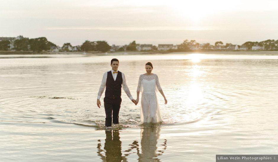 Le mariage de Miguel et Audrey à Pluneret, Morbihan