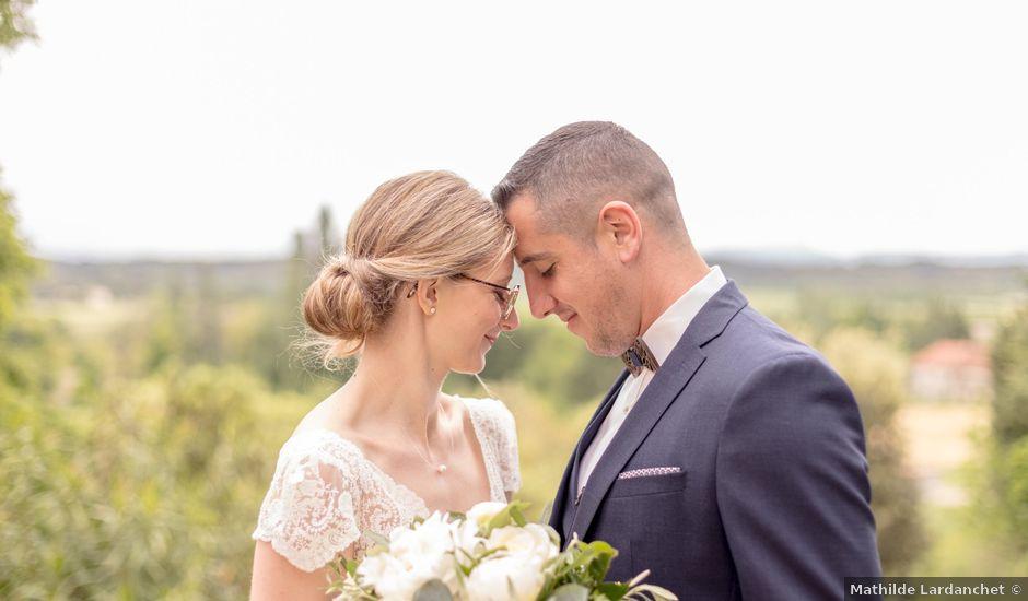 Le mariage de Diogo et Alison à Orange, Vaucluse