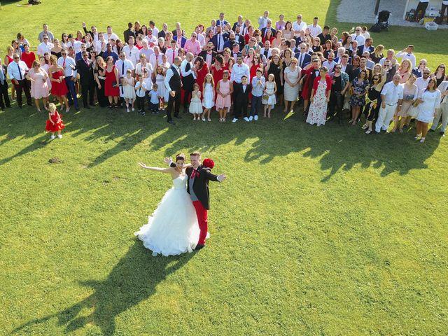 Le mariage de Mickael et Virginie à Hermes, Oise 78