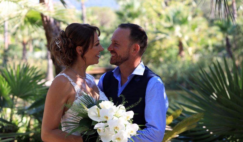 Le mariage de Franck et Line à Roquebrune-sur Argens, Var