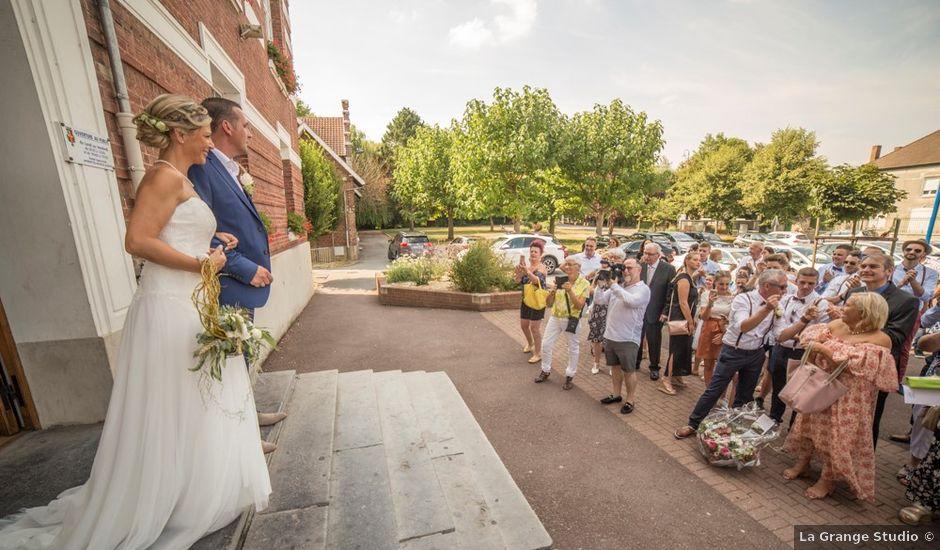 Le mariage de Damien et Dorothée à Marcoing, Nord