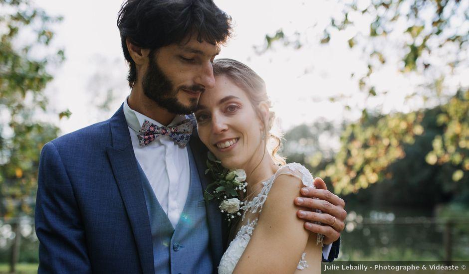 Le mariage de Théau et Coralie à Caen, Calvados