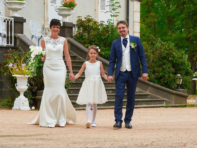 Le mariage de Fabrice et Sandrine à Commentry, Allier 93