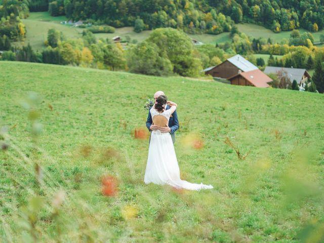 Le mariage de Laurent et Léa à Habère-Poche, Haute-Savoie 8