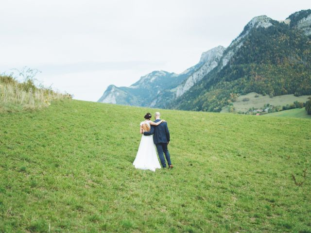 Le mariage de Laurent et Léa à Habère-Poche, Haute-Savoie 9