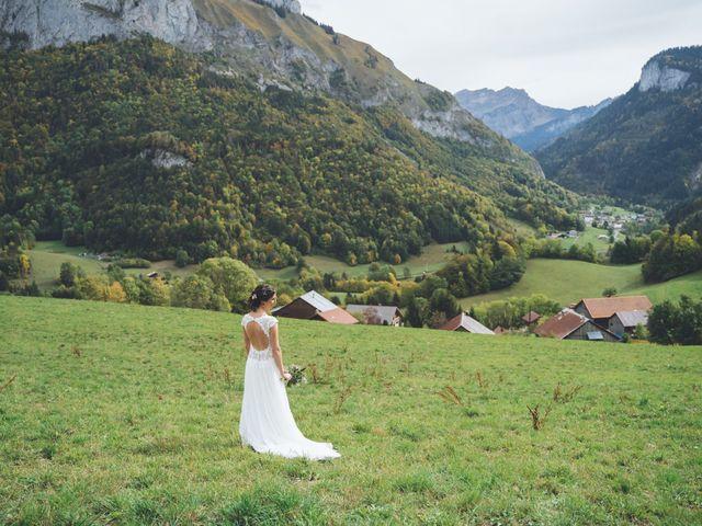 Le mariage de Laurent et Léa à Habère-Poche, Haute-Savoie 18