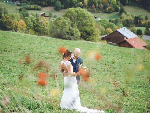 Le mariage de Laurent et Léa à Habère-Poche, Haute-Savoie 19
