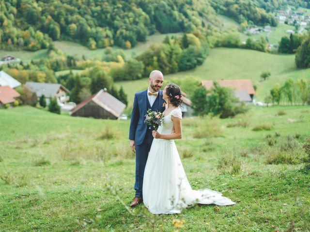 Le mariage de Laurent et Léa à Habère-Poche, Haute-Savoie 20