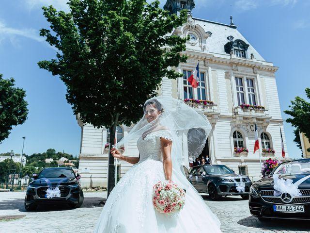 Le mariage de Ihab et Ornella à Ris-Orangis, Essonne 89