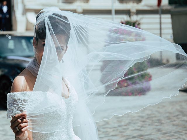 Le mariage de Ihab et Ornella à Ris-Orangis, Essonne 90