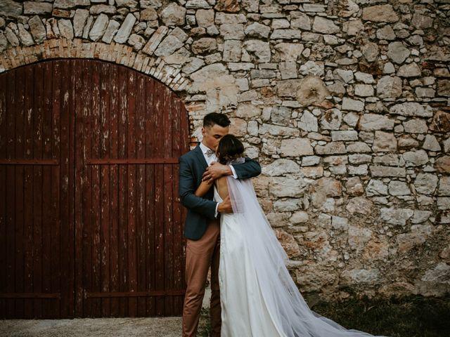 Le mariage de Paul et Isabeau à Saint-Maximin-la-Sainte-Baume, Var 42