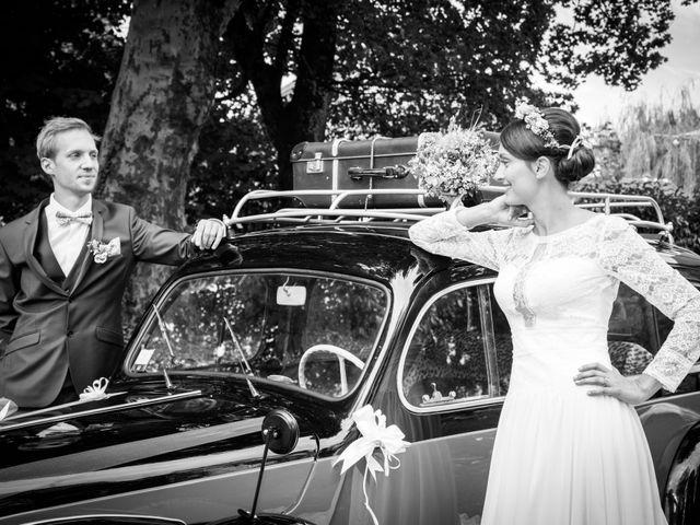 Le mariage de Paul et Angélique à Chamblay, Jura 8