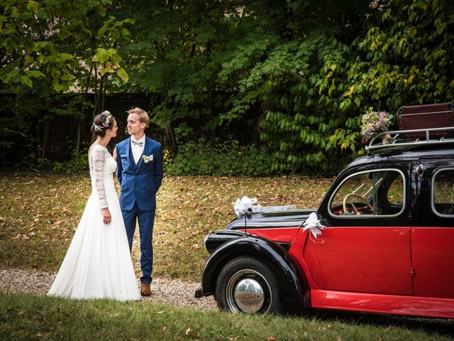 Le mariage de Paul et Angélique à Chamblay, Jura 9